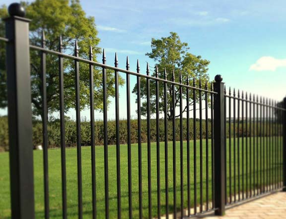 Ornamental Steel Aluminum Fence
