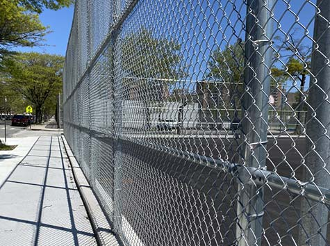 brooklyn chain link fence