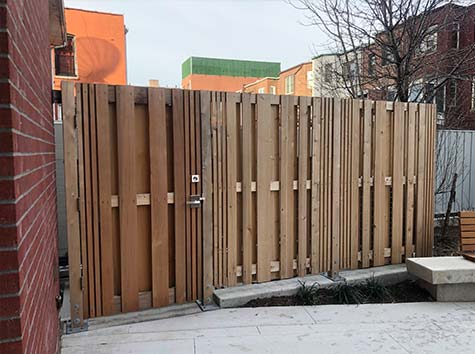 wood fence brooklyn